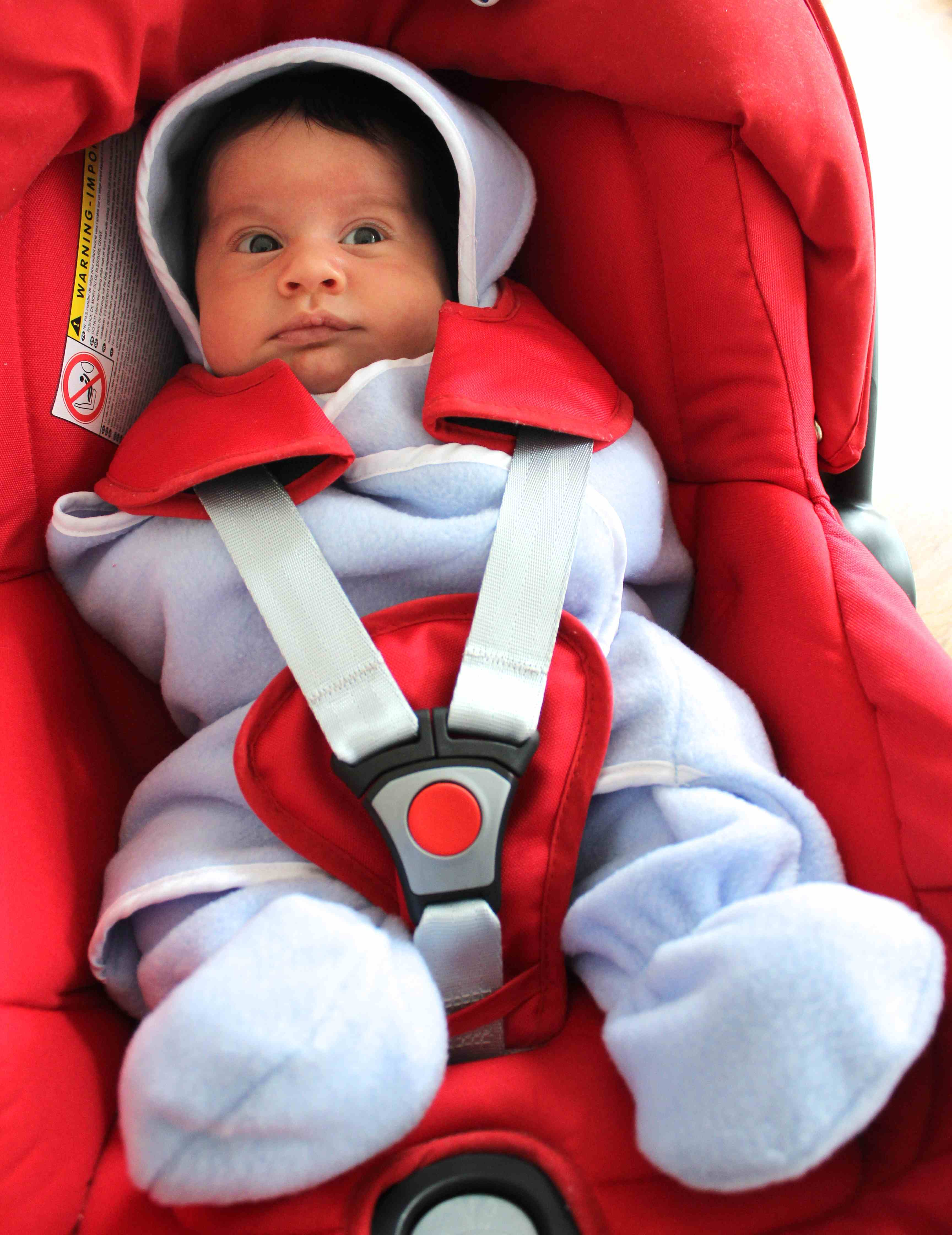 Making A Car Seat Swaddle Blanket