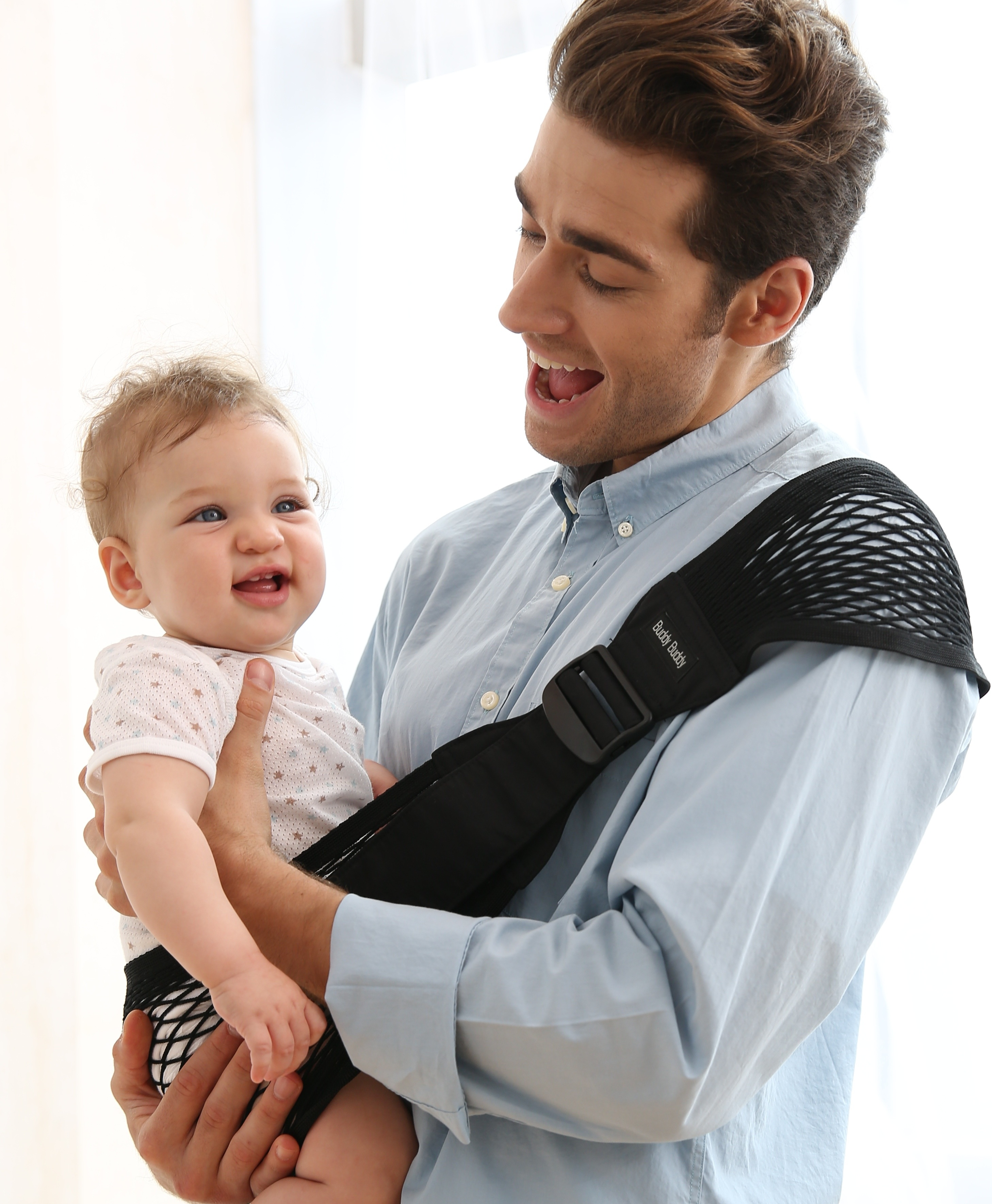 kantan net baby carrier  baby sling  lucky baby japan  babyrug -