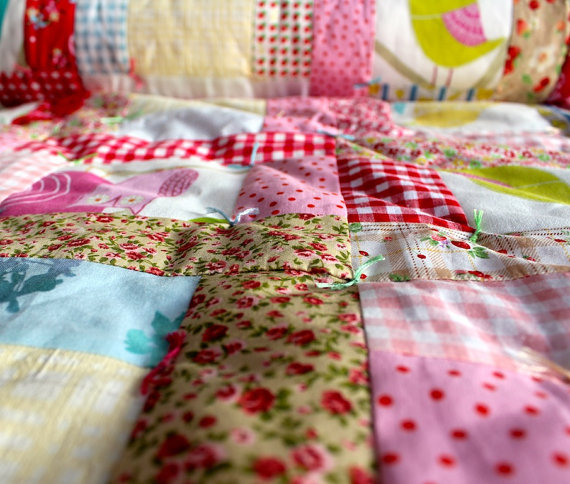 Handmade blankets by Bea