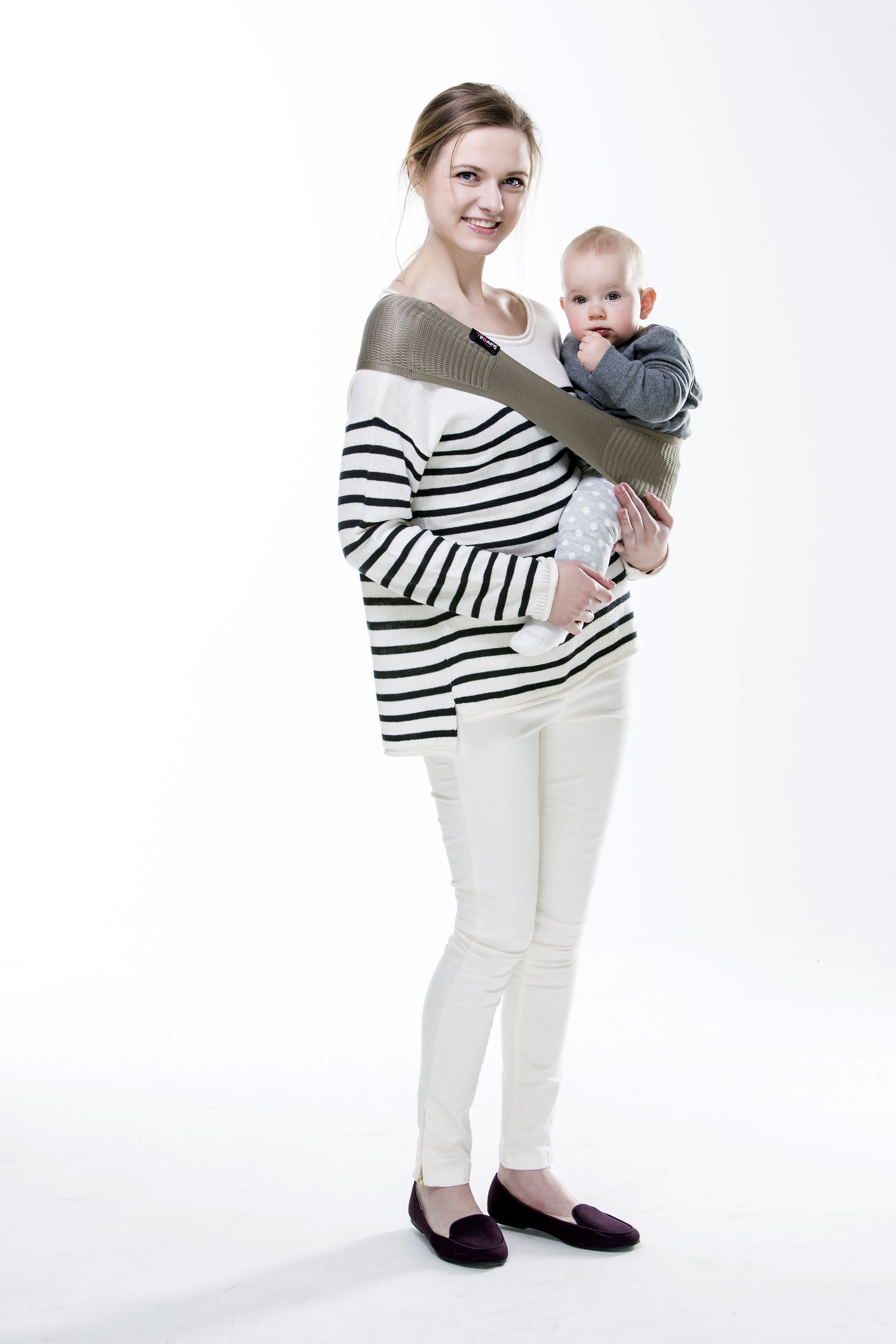 dc3d89a49f9 Suppori sling baby carrier - compact baby sling and hip carrier